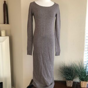 Elizabeth & James knit maxi wool dress